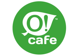 O! Cafe logotype, logos | ArtRaf Design Factory